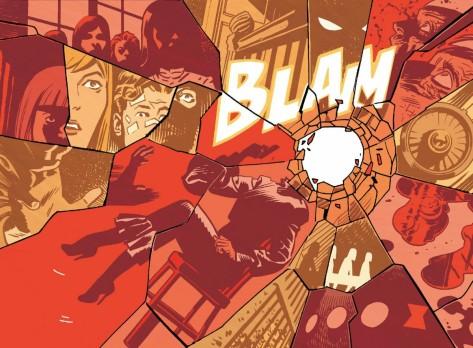 From Black Widow #7 by Chris Samnee & Matthew Wilson