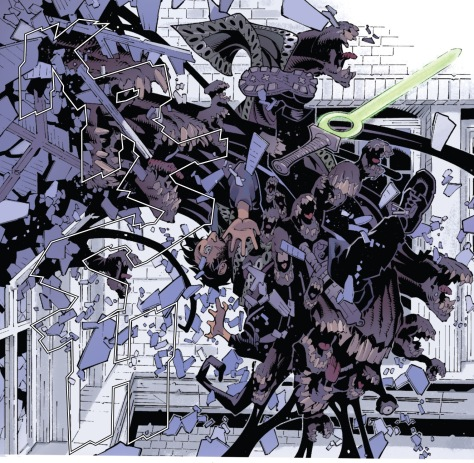 From Dr Strange #12 by Chris Bachallo. Tim Townsend & Antonio Fabela