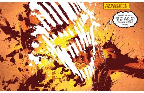 From Dr Strange #12 by Chris Bachallo. Victor Olazaba & Antonio Fabela