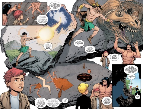 From Future Quest #1 by Evan Doc Schaner & Hi-Fi