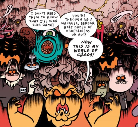 From Regular Show #40 by Laura Howell and Lisa Moore