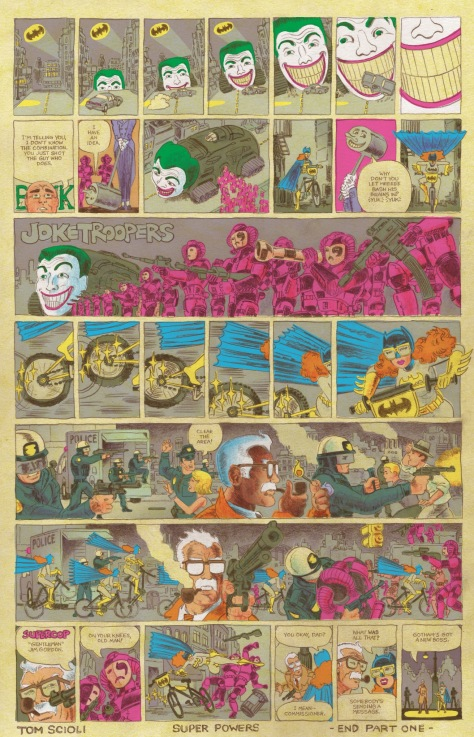 From Cave Carson Has a Cybernetic Eye #1 by Tom Scioli