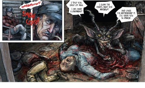 From Harrow County #17 by Owen Gieni