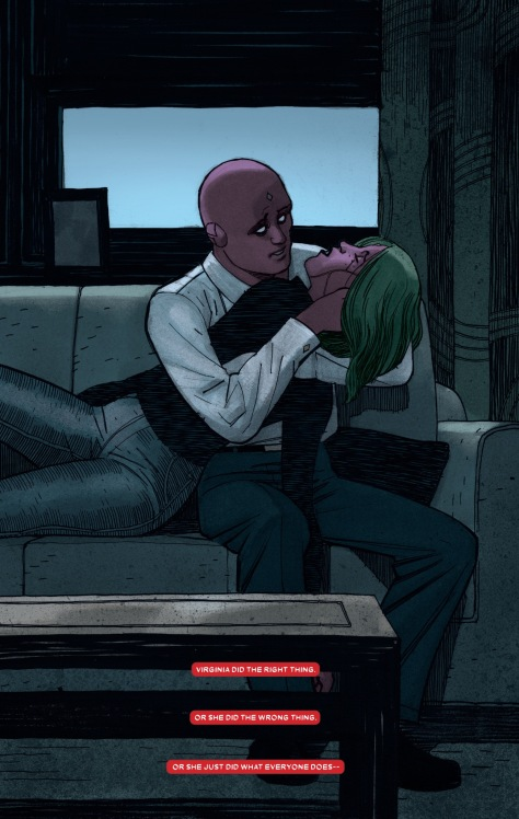 From The Vision #12 by Gabriel Hernandez Walta & Jordie Bellaire
