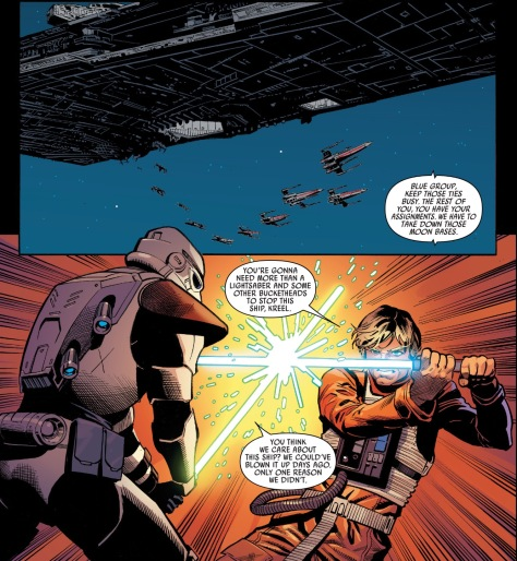 From Star Wars #24 by Jorge Molina & Matt Milla