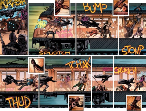 From Midnighter & Apollo #1 by Fernando Blanco & Ramulo Farjada Jr
