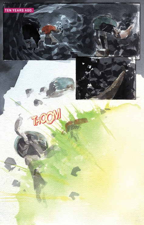 From Descender #16 by Dustin Nguyen