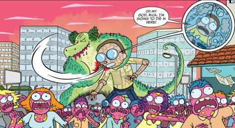 From Rick & Morty #18 by Marc Ellerby