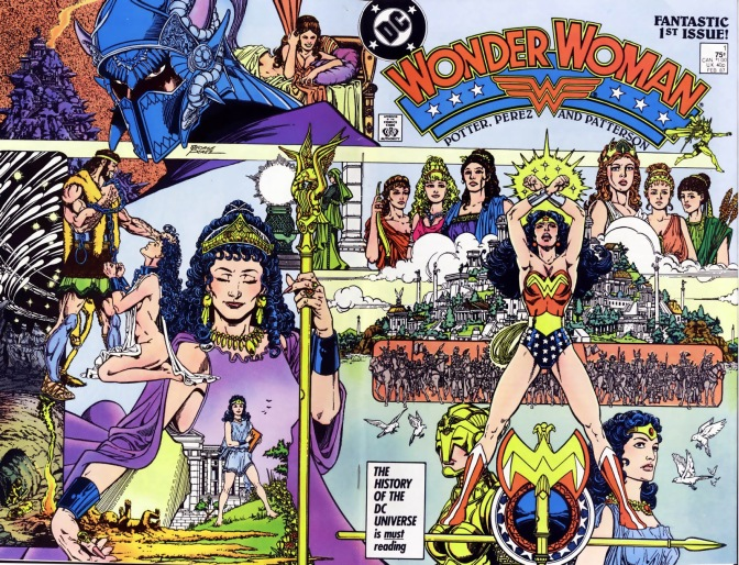 DC's Post Crisis Rebirth: Wonder Woman, George Perez, Gods & Metal