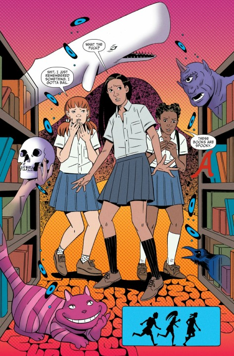 From Shade, The Changing Girl #2 by Marley Zarcone & Kelly Fitzpatrick