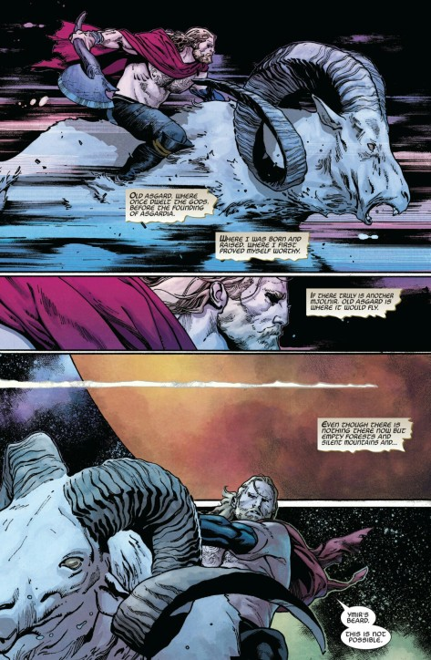 From Thor The Unworthy by Olivia Copiel & Matthew Wilson