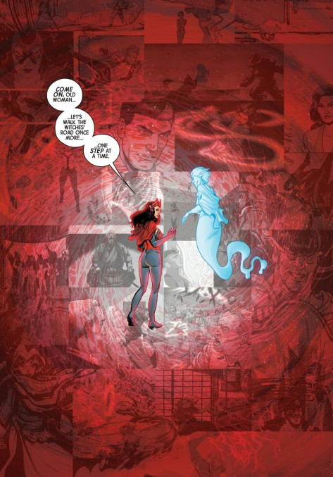 From Scarlet Witch #12 by Annapaolo Martello & Matt Yackey