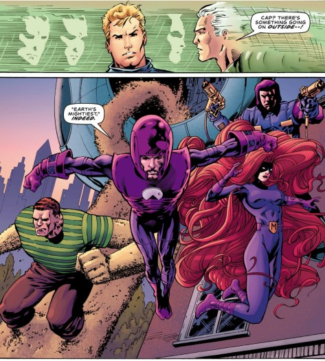 From Avengers 1.1 by Barry Kitson, Mark Farmer & Jordan Boyd