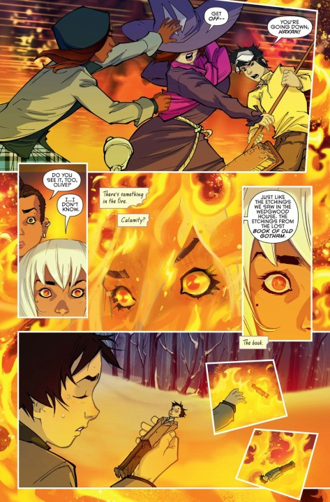 From Gotham Academy Second Semester #3 by Adam Archer, Sandra Hope, Msassyk & Serge Lapointe