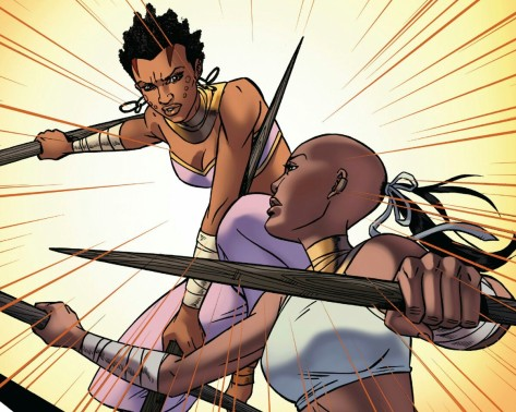 From Black Panther: World of Wakanda #1 by Alitha E. Martinez & Rachel Rosenberg