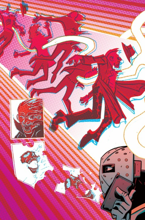 From Cave Carson Has A Cybernetic Eye #2 by Michael Avon Oeming & Nick Firaldi