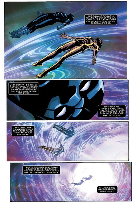From Black Panther #8 by Chris Sprouse, Karl Story & Laura Martin