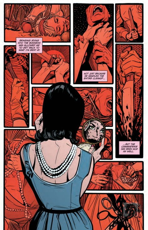 From Lady Killer 2 #3 by Joelle Jones & Michelle Madsen