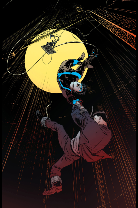 From Nightwing #8 by Javier Fernandiaz and Chris Sotomayor