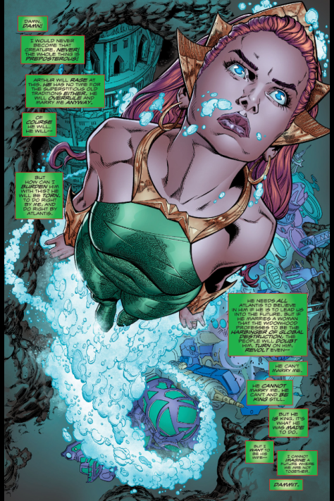 From Aquaman #10 by Brad Walker, Andrew Henessy, and Gabe Eltaeb