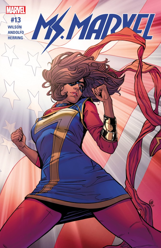 Preview: Ms Marvel #13 Says To Go VOTE!!!!