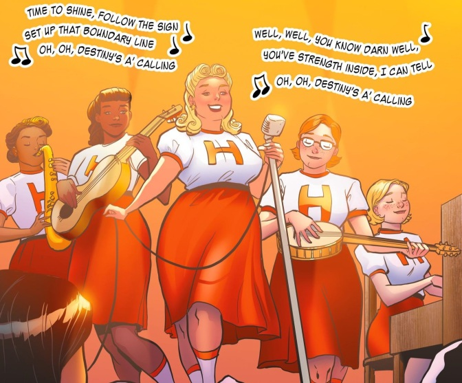 Etta Candy, Or How Any Woman Can Be a Wonder Woman