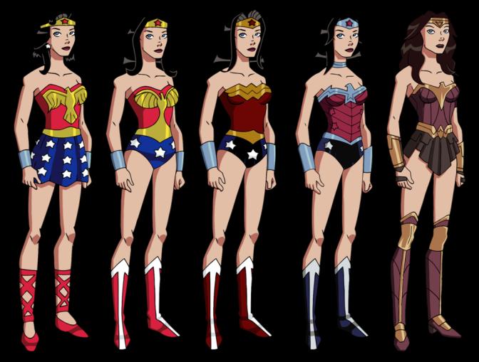 Wonder Woman's Stalwart Wardrobe