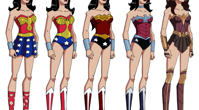Wonder Woman's Stalwart Wardrobe