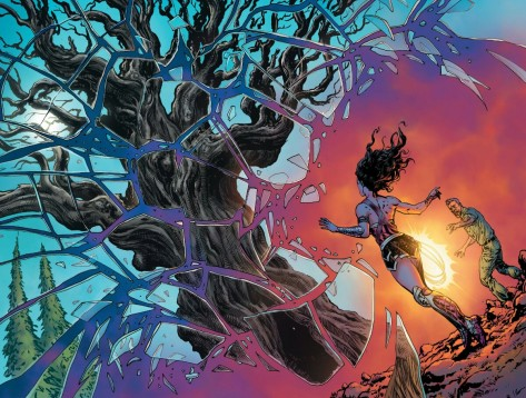 From Wonder Woman #11 by Liam Smart & Laura Martin