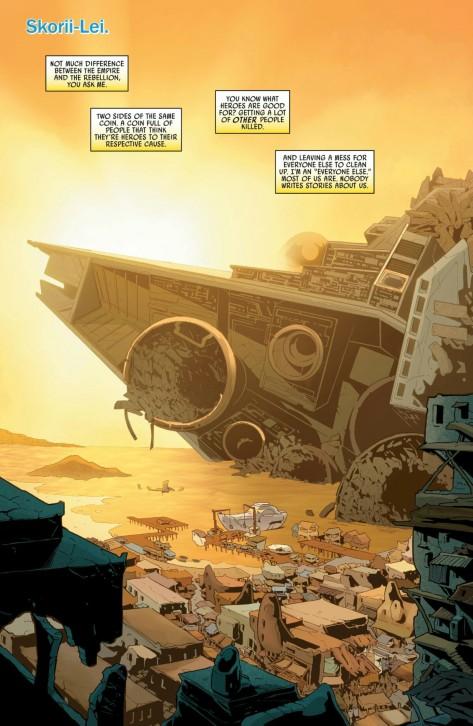 From Star Wars Annual#2 by Emilio Laiso & Rachelle Rosenberg