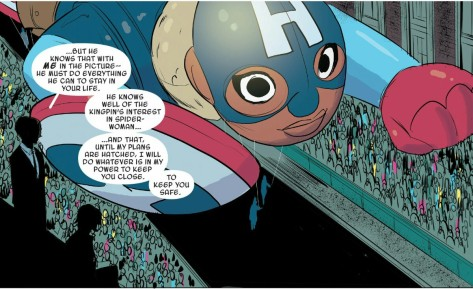 From Spider Gwen #14 by Robbie Rodriguez & Rico Renzi