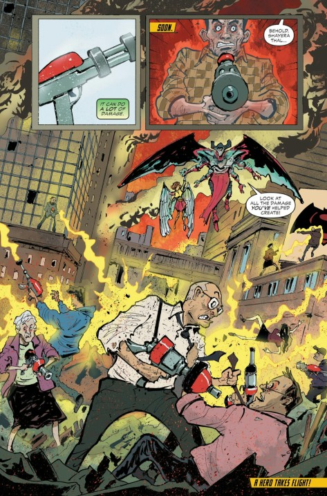 From DC New Talent Showcase #1 by Sonny Liew