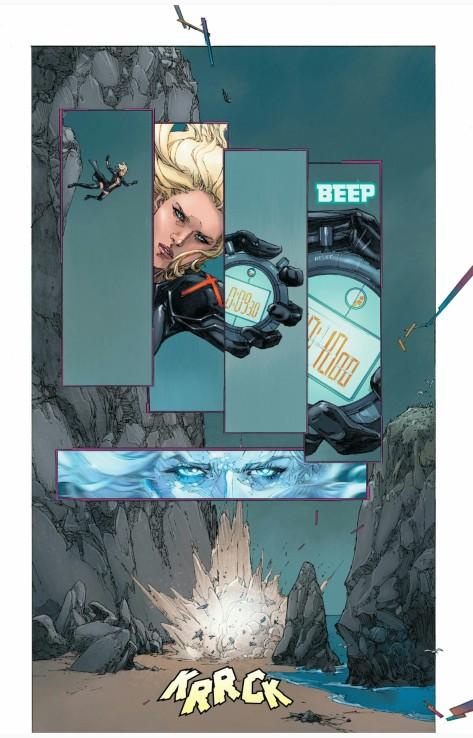 From Inhumans vs X-Men #0 by Kenneth Rocafort & Dan Brown
