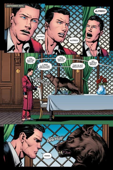 From Batman Annual #1 by David Finch & Gabe Eltaeb