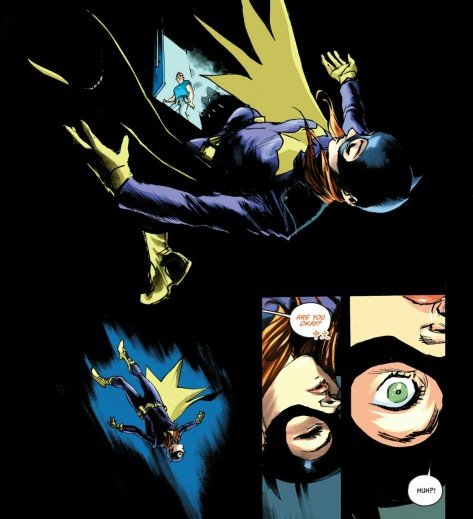 From Batgirl #5 by Rafeal Albuquerque & Dave McCaig