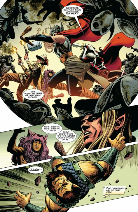From Thor #13 by Steve Epting & Frank Martin