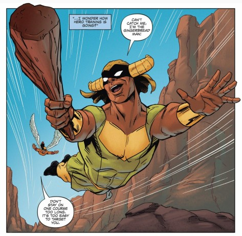 From Future Quest #7 by Ron Randall & Veronica Gandini