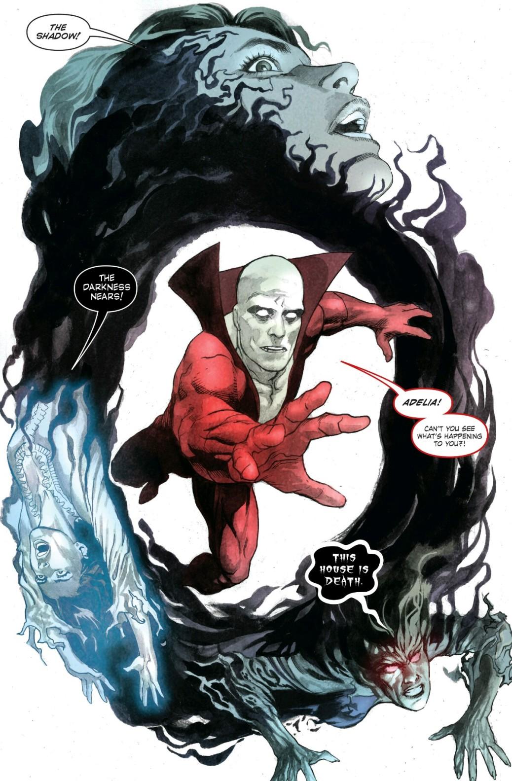 From Deadman: Dark Mansion of Forbidden Love #2 by Lan Medina & Jose Villarrubia