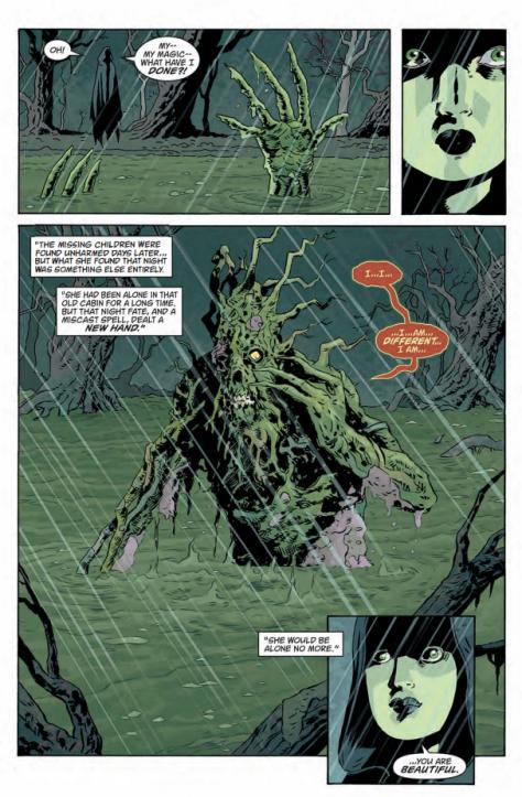 From Black Hammer #6 by Dean Ostrom & Dave Stewart
