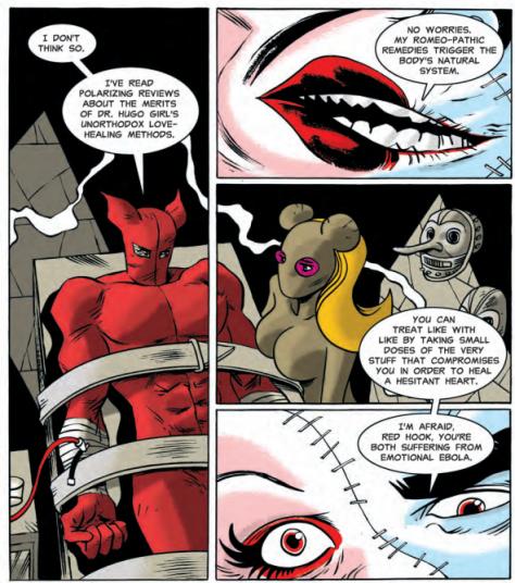 From Dark Horse Presents #29 by Dean Haspiel