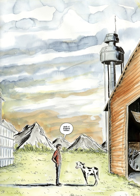 From A.D: After Death #1 by Jeff Lemire