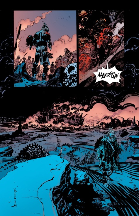From The Goddamned #5 by Rm Guera & Guilia Brusco