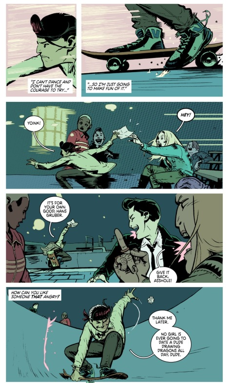 From Deadly Class #24 by Wes Craig & Jordan Boyd