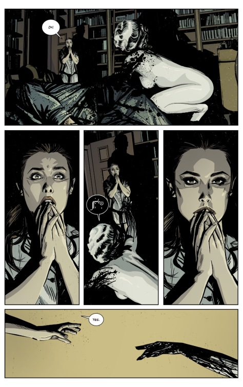From The Black MOnday Murders #4 by Tomm Coker & Micharl Garland