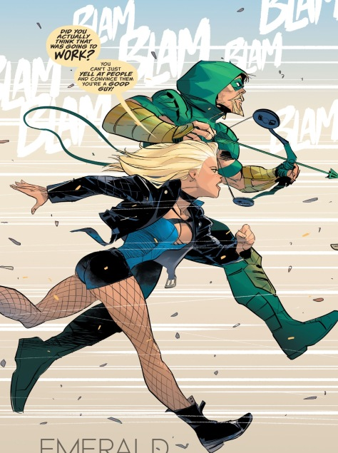 From Green Arrow #13 by Otto Schmidt