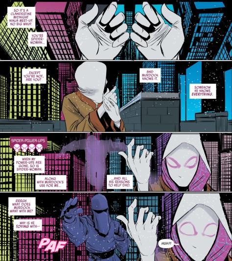 From Spider-Gwen #15 by Robbie Rodriguez & Rico Renzi