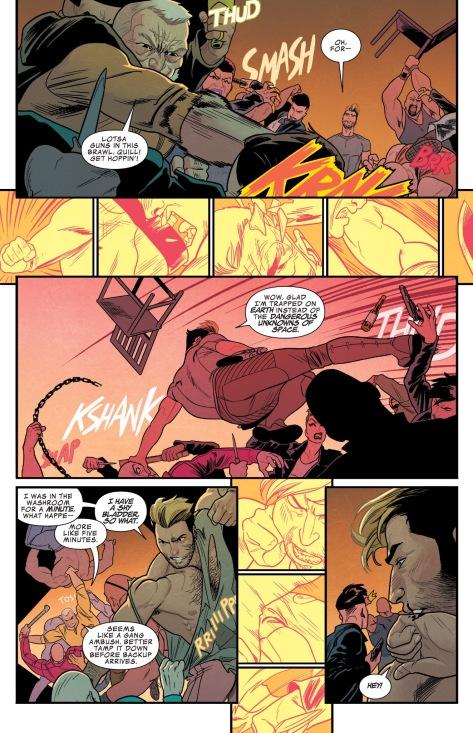 From Star-Lord #1 by Kris Anka & Mathew Wilson