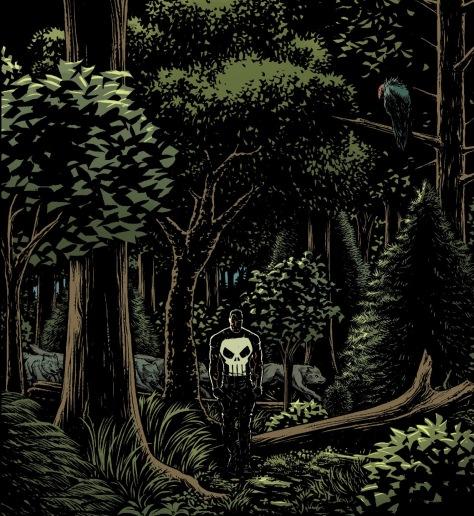 From The Punisher #7 by Steve Dillon, Matt Horak & Frank Martin