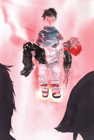 From Descender #17 by Dustin Nguyen