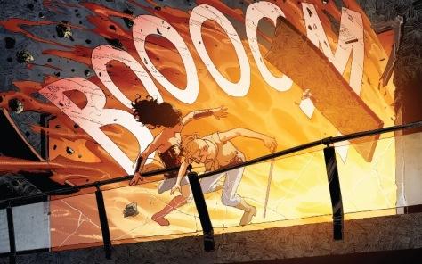 From Wonder Woman #12 by Nicola Scott & Romulo Farjado Jr
